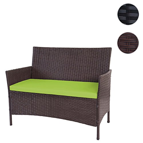 poly rattan gartenbank halden sitzbank bank m bel24 gartenm bel. Black Bedroom Furniture Sets. Home Design Ideas