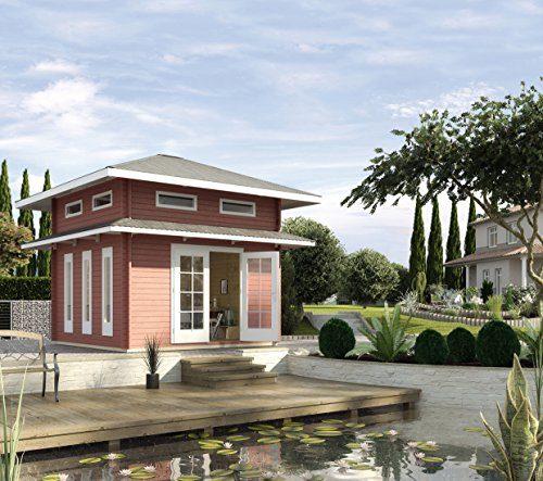 Weka Gartenhaus, Weekendhaus 157, 45 mm mit Schlafboden, braun, 524x524x442 cm, 157.3838.00.00