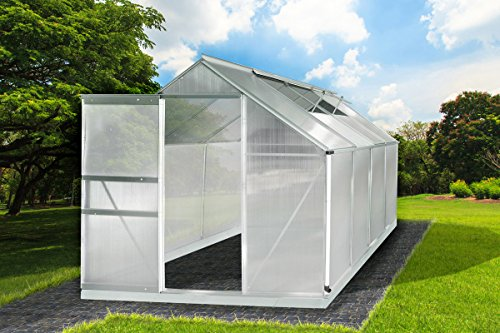 gew chshaus aluminium mit stahlfundament 7 6m 6mm platten l 250 x b 190 x h 195cm m bel24. Black Bedroom Furniture Sets. Home Design Ideas