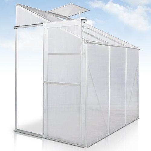 jago gewchshaus treibhaus pflanzenhaus wintergarten aluminium von 25c bis 60c bestndig mit. Black Bedroom Furniture Sets. Home Design Ideas