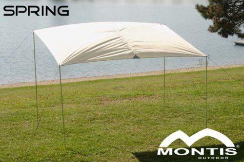 MONTIS SPRING, SONNENSEGEL, weiß,  ca. 3x2m, 3,5kg