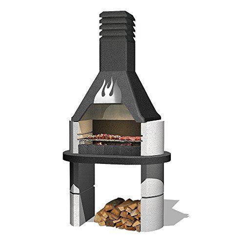 Sarom Design-Gartengrillkamin Flamme