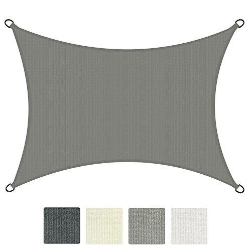Sol Royal® SolVision Sonnensegel Rechteck HDPE Sonnenschutz Segel atmungsaktiv Schattensegel UV-Schutz - in verschiedenen Farben und Größen erhältlich