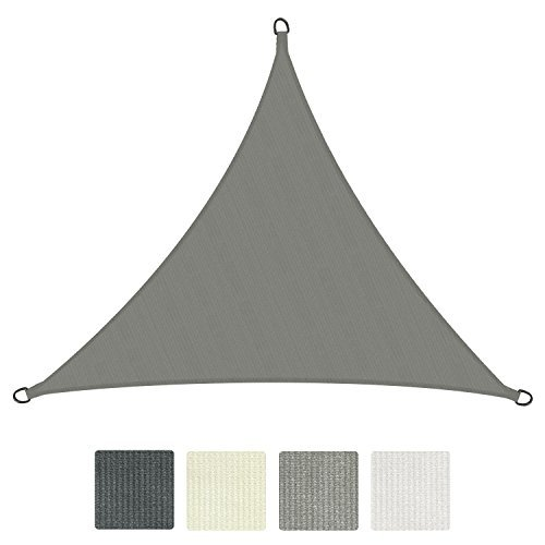 Sol Royal® Sonnensegel SolVision HDPE Sonnenschutz Segel atmungsaktiv & UV-Schutz Schattensegel Dreieck - in verschiedenen Farben und Größen erhältlich