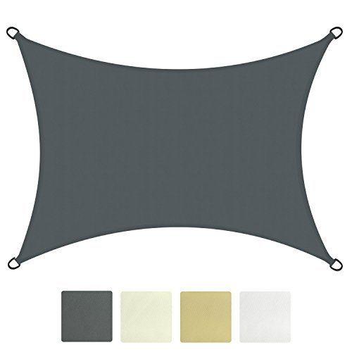 Sol Royal® SolVision Sonnensegel Sonnenschutz Segel wasserabweisend Schatten Segel Rechteck UV-Schutz - in verschiedenen Farben und Größen erhältlich