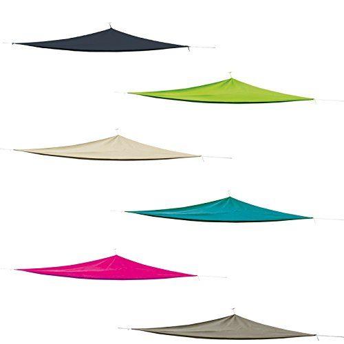 Sonnensegel Dreieck 3x3x3m Polyester verschiedene Farben Sonnenschutz Terrasse