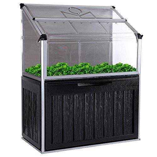 gew chshaus aluminium mit stahlfundament 11 7m treibhaus glashaus pflanzenhaus tomatenhaus 6mm. Black Bedroom Furniture Sets. Home Design Ideas