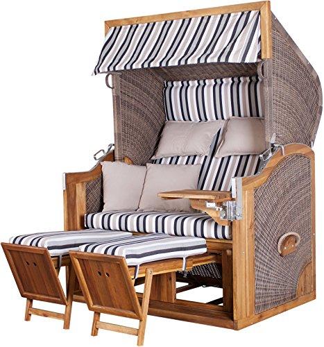 devries strandkorb pure greenline 170xl pe walnut dessin. Black Bedroom Furniture Sets. Home Design Ideas