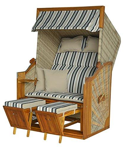 devries strandkorb trendy pure greenline 120 pe antique. Black Bedroom Furniture Sets. Home Design Ideas