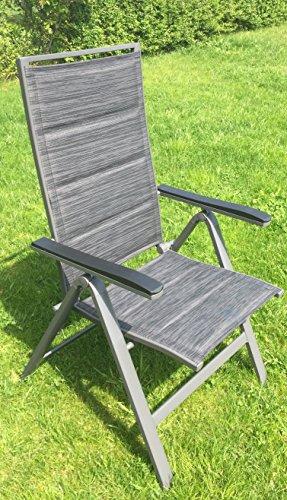 alu klappsessel klappstuhl gartenstuhl stuhl aluminium 7. Black Bedroom Furniture Sets. Home Design Ideas