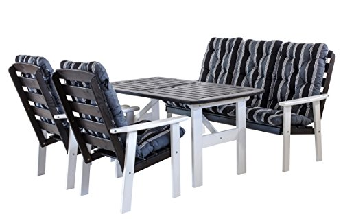 ambientehome polyrattan sitzgruppe essgruppe lubango 9 teiliges set m bel24 gartenm bel. Black Bedroom Furniture Sets. Home Design Ideas