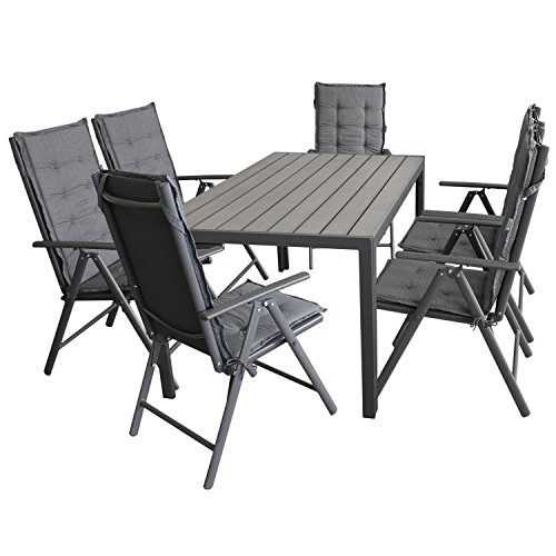 13tlg gartengarnitur sitzgarnitur gartenm bel terrassenm bel set sitzgruppe polywood 150x90cm. Black Bedroom Furniture Sets. Home Design Ideas