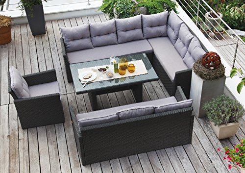 lounge tisch garten. Black Bedroom Furniture Sets. Home Design Ideas