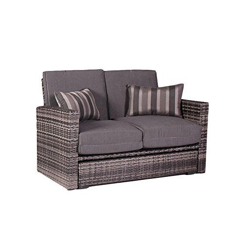 ssitg sonnenliege loungeliege gartenliege relaxliege liege mit dach poly rattan garten gartenm bel. Black Bedroom Furniture Sets. Home Design Ideas
