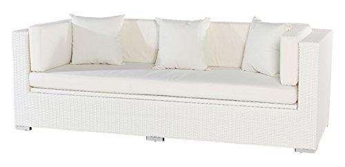 ribelli auflagenbox pavia alu kissenbox wasserdicht aluminium gartentruhe in wei f r. Black Bedroom Furniture Sets. Home Design Ideas