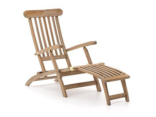 ROUGH-X Deckchair Teakholz Gartenliege