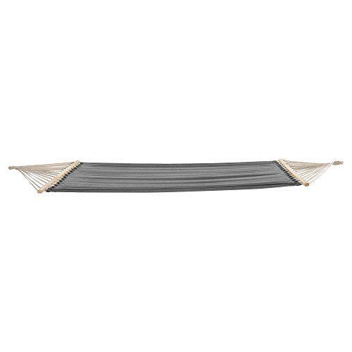 [casa.pro] XXL Hängematte (grau) (150 x 210 cm) Hängesitz / Hängeschaukel / Hängematte
