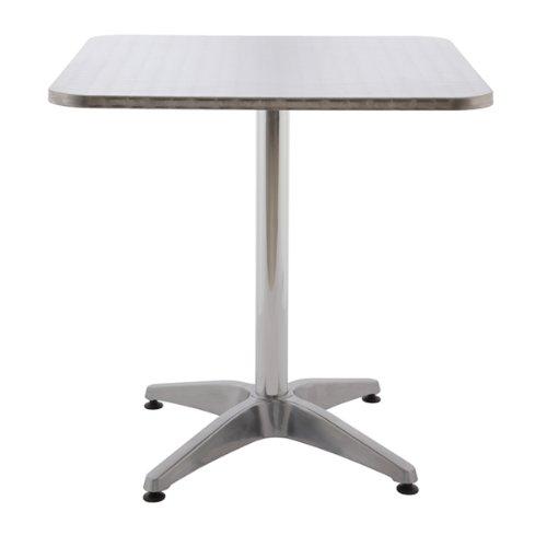 Alu-Tisch AOSTE - Bistrotisch - Gartentisch - Balkontisch