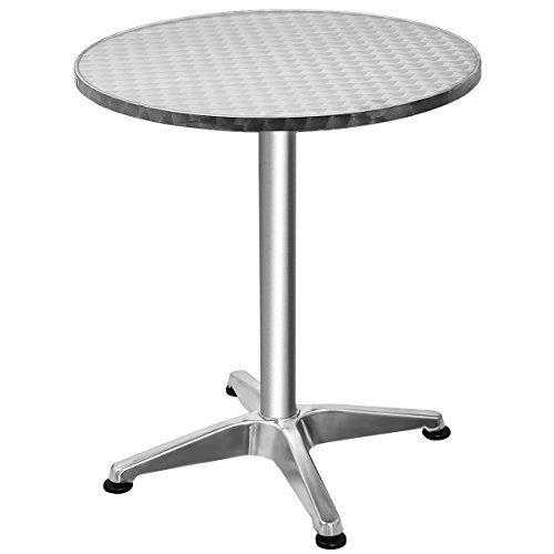 Stehtisch Bartisch Sitztisch Bistrotisch Patytisch Balkontisch Gartentisch 60x60x70cm (rund)
