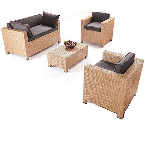 """Gartenmöbel-Set """"Cube"""", 4-tlg."""