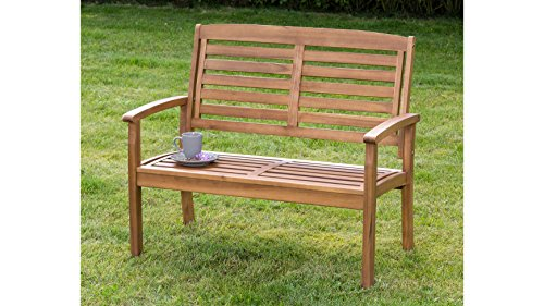 MERXX Gartenbank Paraiba, Akazienholz, 160/110 x61x92 cm, braun 110 cm, braun