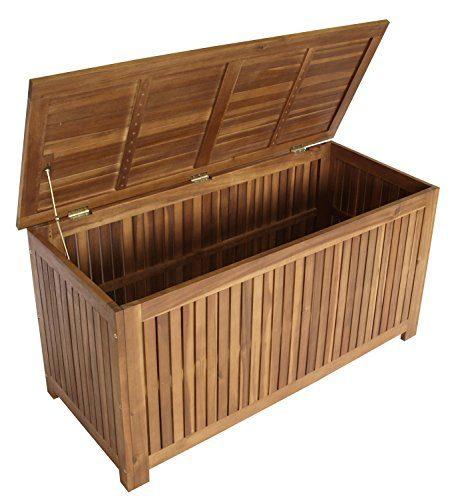 DEGAMO Auflagenbox ST. VINCENT 117x50x58,5cm, Akazie geölt, FSC®-zertifiziert