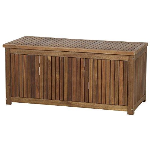 Siena Garden Kissenbox Astoria, 120x55x55cm, Akazienholz, geölt in natur, FSC 100%