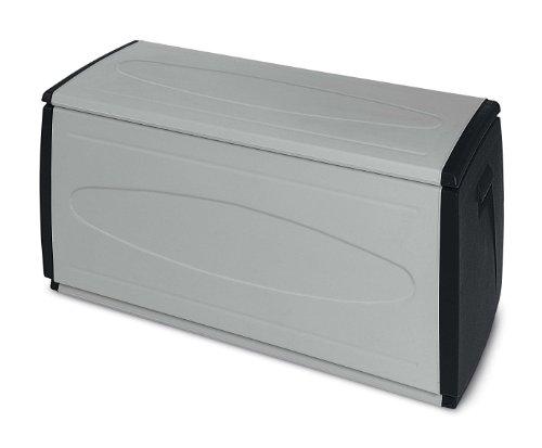Terry 66253Sitz-Truhe für innen und außen, schwarz 120