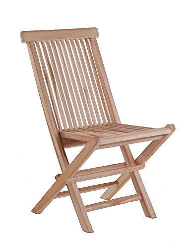 SAM Hochlehner Menorca, Klappstuhl aus Massivholz, Gartenstuhl aus Teak-Holz für Balkon, Terrasse oder Garten [53263248]