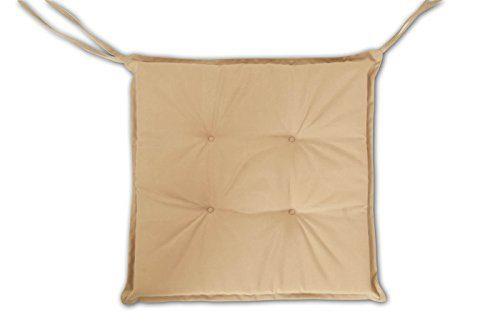SAM Stuhlauflage für Klappstühle, Gartenstühle, Gartensessel, in beige