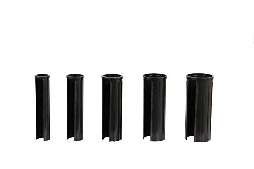 XXL 15 cm Doppler Granitsockel-Reduzierringe Innendurchmesser 25, 32, 38, 48 und 52 mm, schwarz Adapter