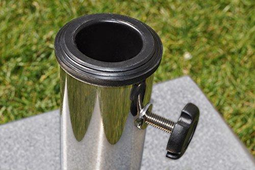 paramondo Sonnenschirm Schirmständer Granit quadratisch