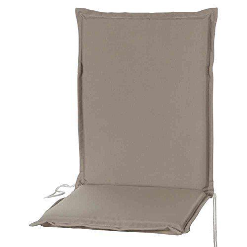 Sun Garden 10143255 Esdo Auflage Sessel niedrig Soft-Filamentpolyester Dessin 50234-610 107 x 47 x 4 cm