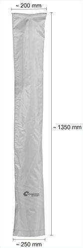 Schneider Schutzhülle für Sonnenschirm, silbergrau, bis ca. 200 cm Ø