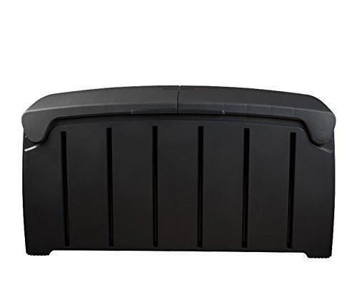 Koll Living Kissenbox / Auflagenbox mit 300 Liter Fassungsvermögen - wasserfester Stauraum für Sitzauflagen, Kinderspielzeug - Komplett wasserdicht !