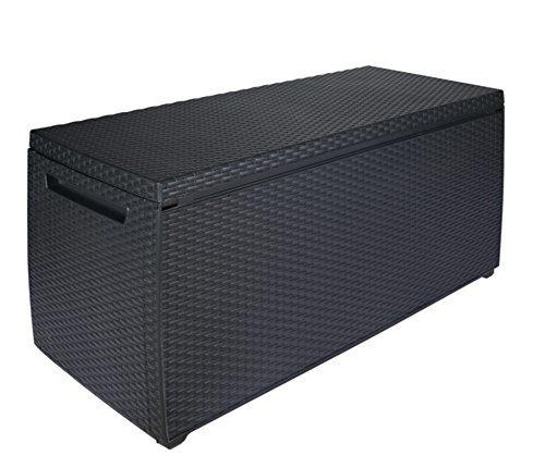 Keter Auflagen- und Universal Rattan Style Box Capri, 305 L, grau