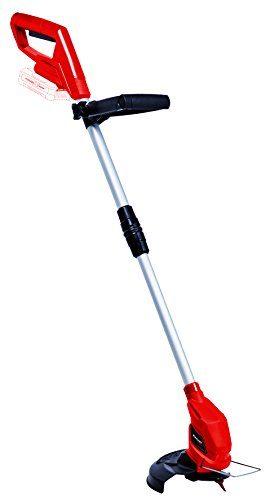 Einhell Akku-Rasentrimmer GC-CT 18/24 Li - Solo Power X-Change (Li-Ion, verstellbarer Teleskop-Führungsholm und Zusatzhandgriff, Flowerguard, inkl. 20 Kunststoffmesser, ohne Akku und Ladegerät)