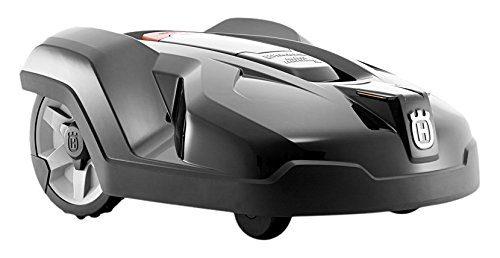 Husqvarna Automower 420 Mähroboter (3 frei schwingende Messerklingen, 19 Tasten, Timer, 58 dB(A)) Granitgrau