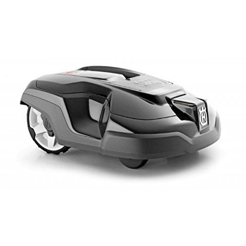 Husqvarna Mähroboter Automower 315 (25 W, Wetter Timer, Alarm, 19 Tasten, LCD-Display mit Bedienmenü, 25 x 53 x 51 cm), Granitgrau, 967623405