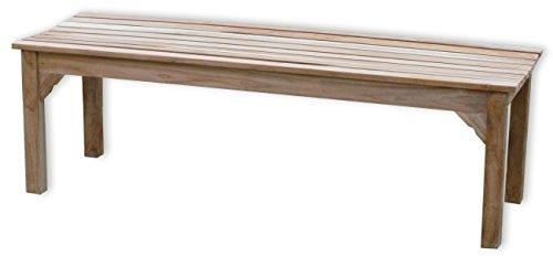 "KMH®, 3er Teak Gartenbank ""Siria"" 150 cm (#102053)"