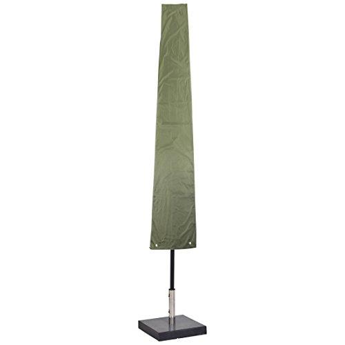 Ultranatura Schutzhülle für Sonnenschirm, wasserdichte Universal-Hülle für Standschirm und Sonnenschirm – wetterfeste Abdeckung für Gartenschirme mit bis zu 4 m aufgeklapptem Schirm-Durchmesser