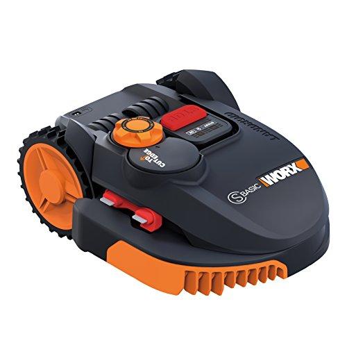 Worx wr094s Mähroboter Landroid, 36W, 20V, Schwarz Orange, 350qm