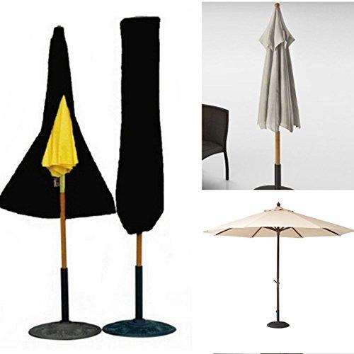 Xiliy Schutzhülle Sonnenschirm Abdeckung Abdeckplane Sonnenschirmhülle Schirm 202×95×50cm