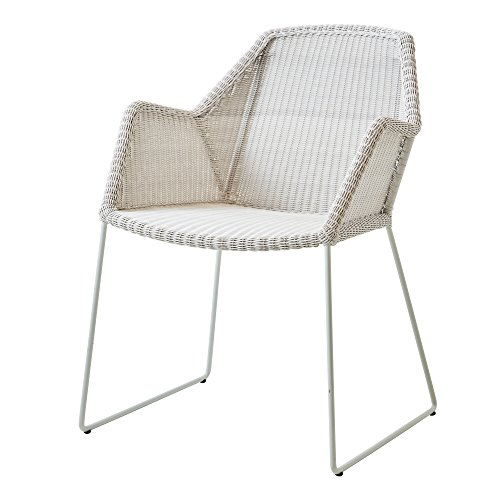 Cane-line® Breeze Outdoor Stuhl Kufengestell weiß