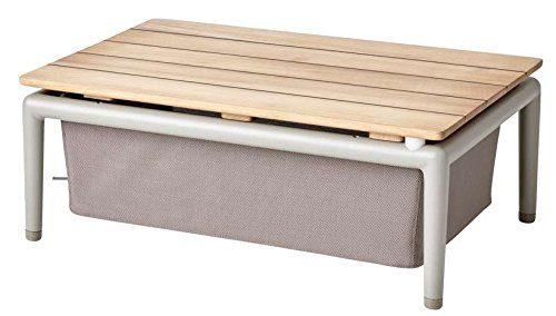 Cane-line® Conic Box Tisch braun
