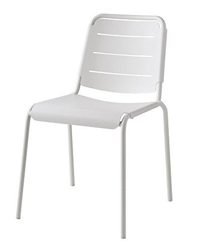 Cane-line® Copenhagen City Stuhl 2er Set weiß