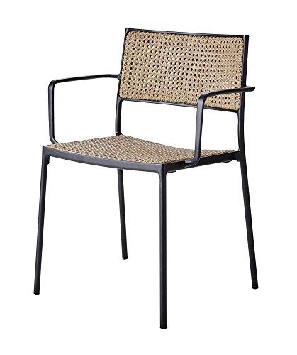Cane-line® Less Outdoor Stuhl Geflecht natural 2er Set