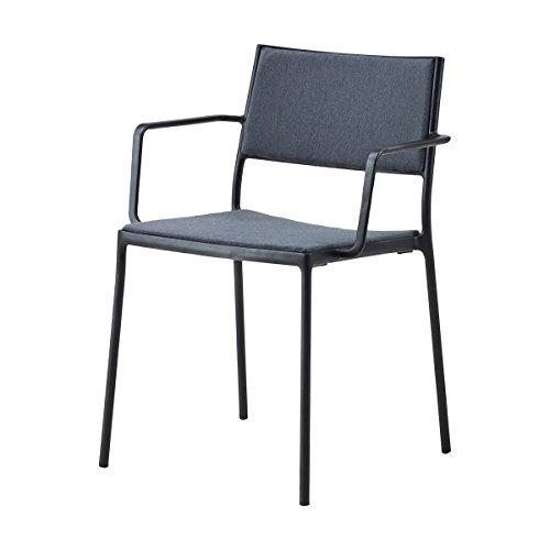 Cane-line® Less Outdoor Stuhl Polster lava grau 2er Set