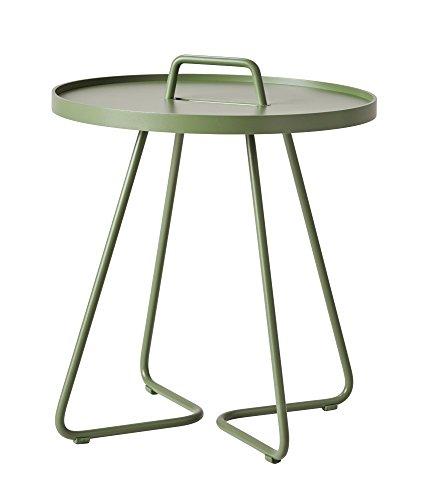 Cane-line® On-The-Move Beistelltisch klein olivengrün