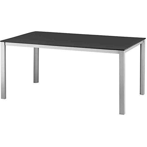 Kettler Tisch Kettalux-Plus, silber/anthrazit, 160 x 95 x 74 cm